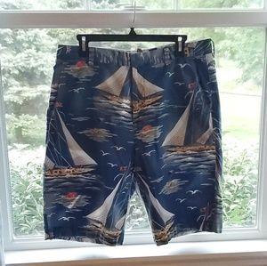 J. Crew cotton sailboat shorts size 34